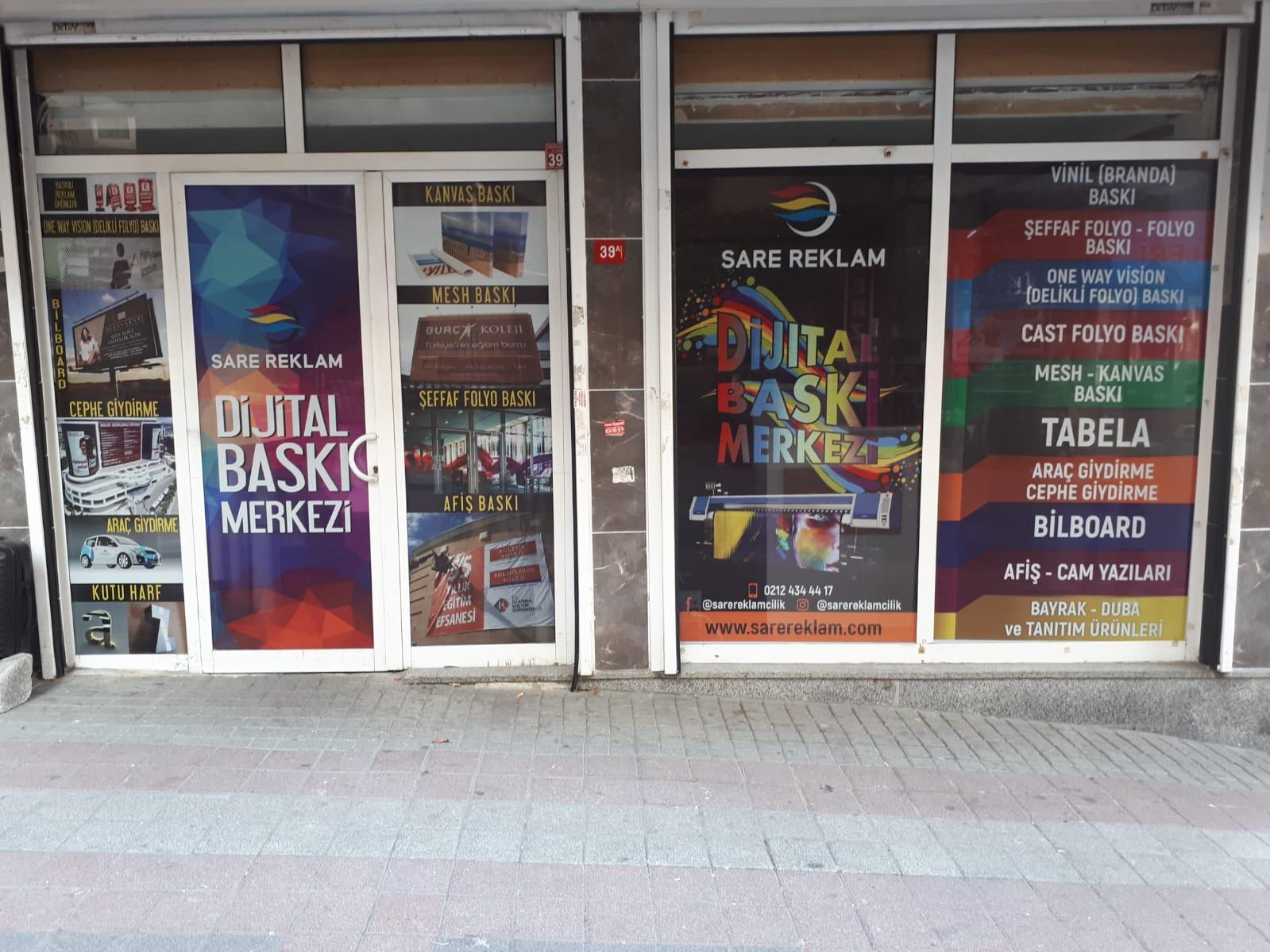 Sare Reklam Dijital Baskı Merkezi & Açık Hava Reklamcılığı