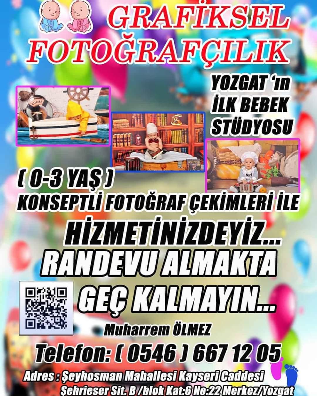 Grafiksel Fotoğrafçılık YOZGAT'da Açıldı