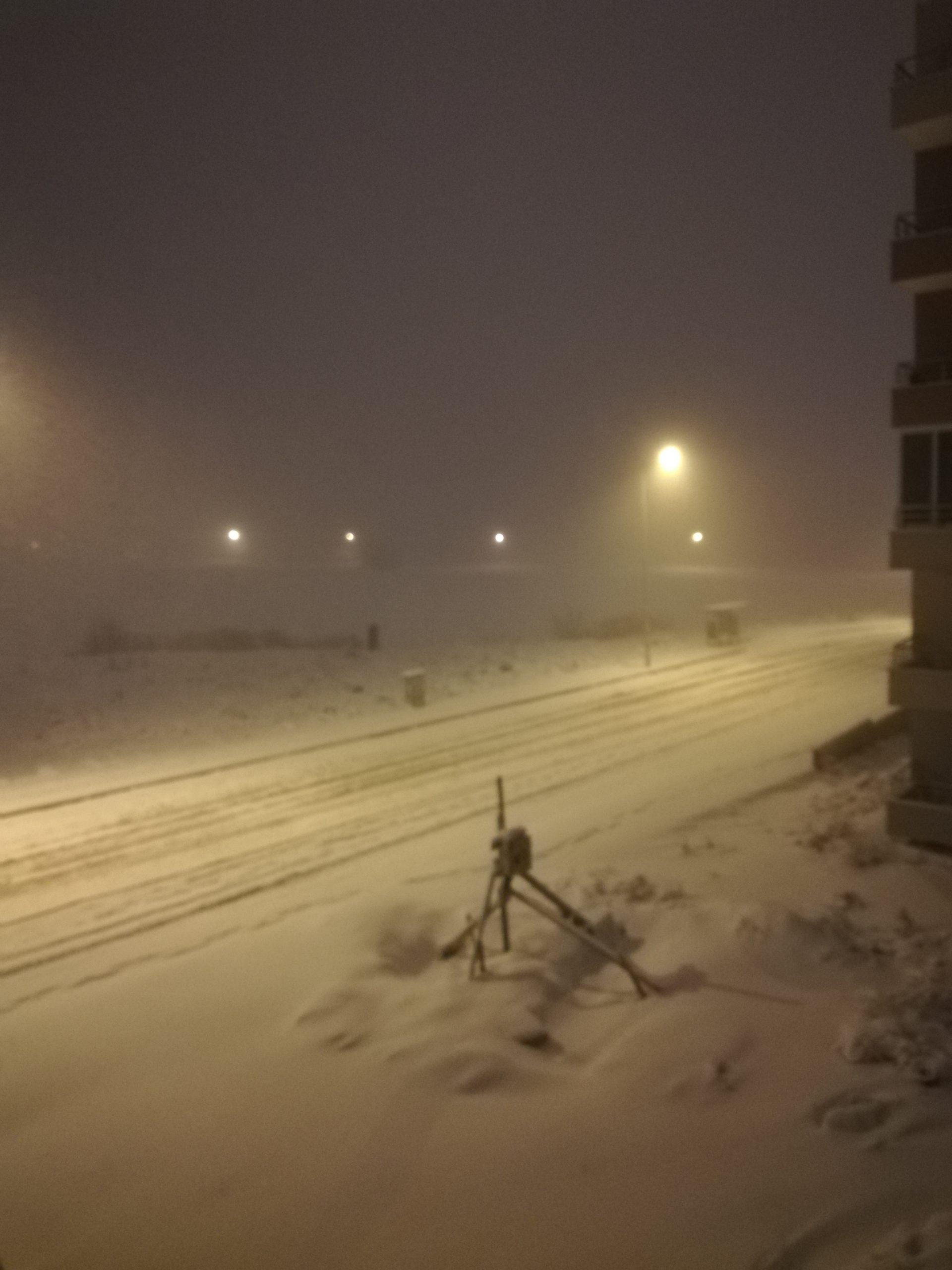 Sivas'da Yoğun Kar ve Tipi