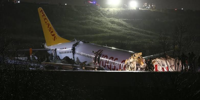 Sabiha Gökçen Havalimanı Uçak Kazası