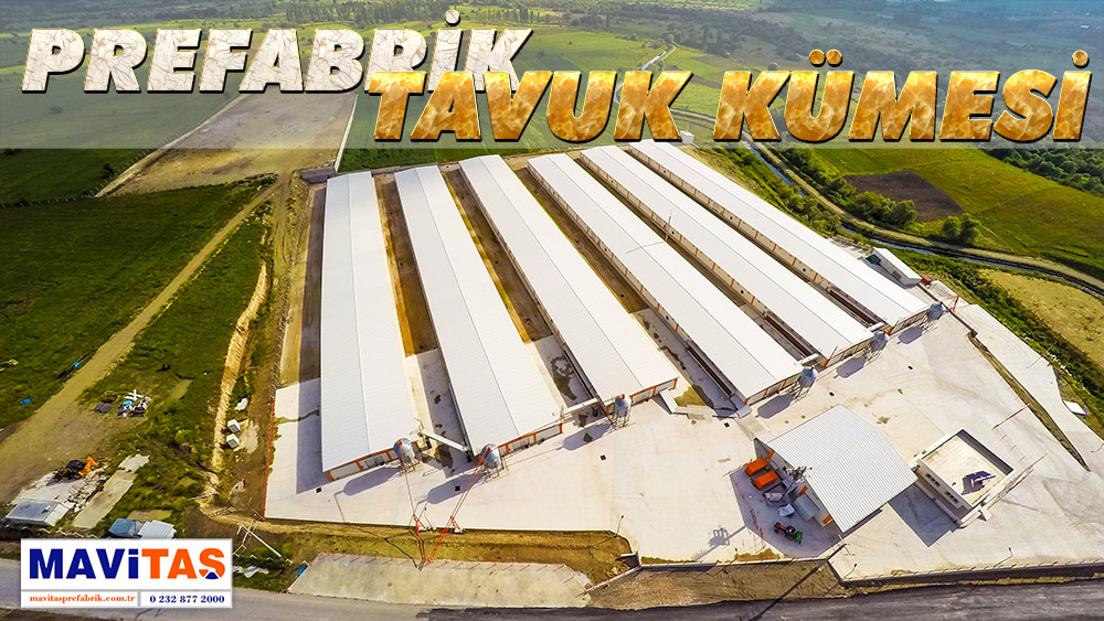 Prefabrik Tavuk Kümesi