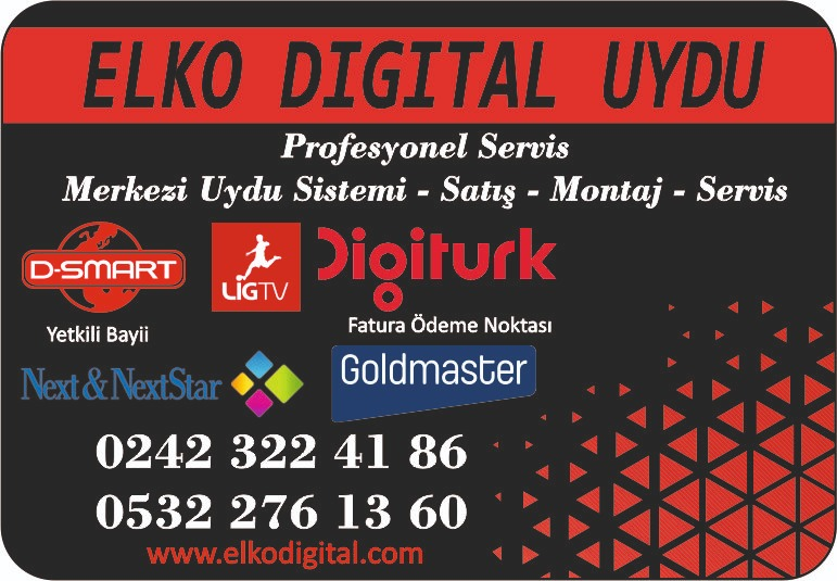 ELKO DİGİTAL UYDU VE TEKNİK SERVİSİ